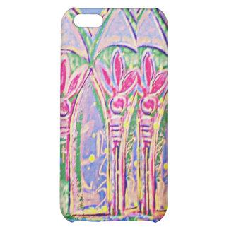 Chapoteo tropical del caso del iPhone 4 del color