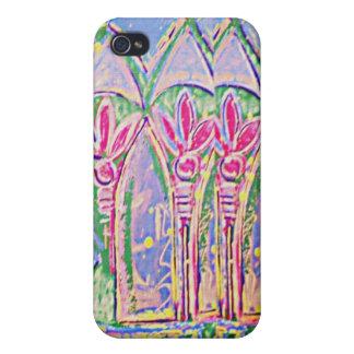 Chapoteo tropical del caso del iPhone 4 del color iPhone 4 Coberturas