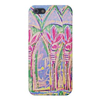 Chapoteo tropical del caso del iPhone 4 del color iPhone 5 Coberturas