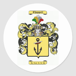 chappell classic round sticker