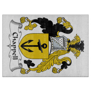 Chappell Family Crest Cutting Board