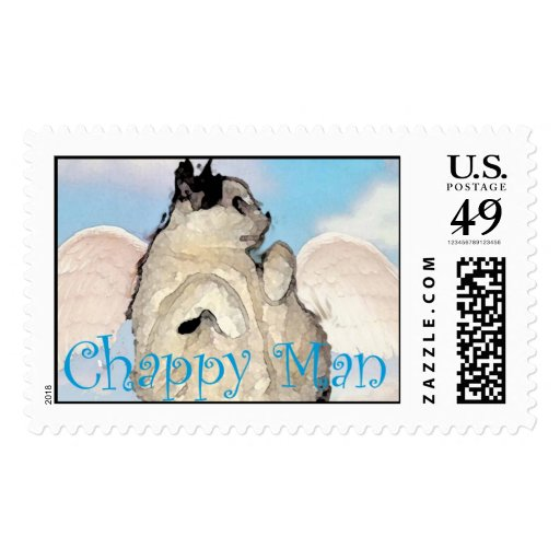 Chappy Angel Stamp