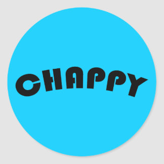 Chappy Sticker