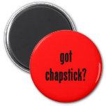 ¿chapstick conseguido? imán para frigorifico