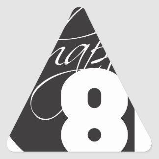 Chapter81 Logo Triangle Sticker