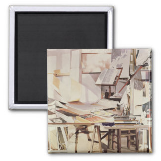 Chapter 1990 2 inch square magnet