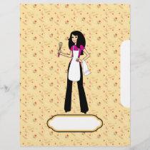 Chapter Divider Sheets for Recipe Binder