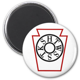 Chapter KeyStone 2 Inch Round Magnet