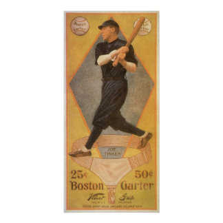 Chapucero de Joe de la tarjeta de béisbol del arte Impresiones