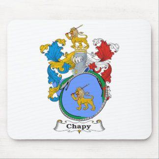Chapy Family Hungarian Coat of Arms Mouse Pad