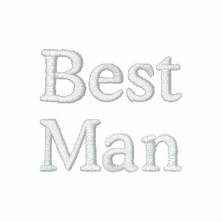 Chaqueta bordada el mejor hombre