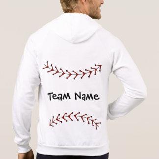 Chaqueta con capucha del béisbol