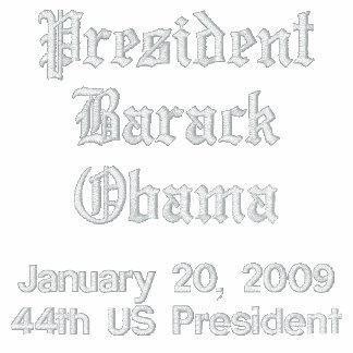 Chaqueta conmemorativa de presidente Barack Obama