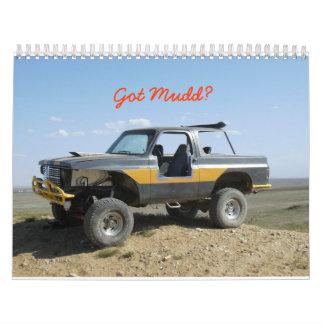 ¿Chaqueta, conseguida Mudd? Calendarios