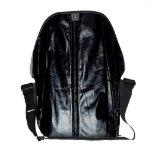 chaqueta de cuero de los años 80 bolsas de mensajeria
