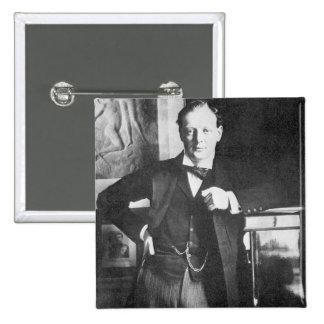 Chaqueta de punto Churchill de Winston en 1904 Pins