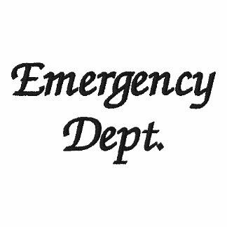 Chaqueta del departamento de emergencia
