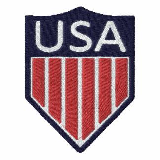 Chaqueta del fútbol de los E.E.U.U.