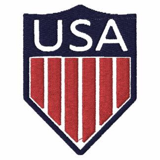 Chaqueta del jersey del logotipo del fútbol de los