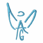 Chaqueta del paño grueso y suave del AG - ángel de