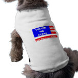 Chaqueta del suéter del perrito - dios bendice los ropa de perro