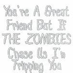 Chaqueta para hombre de los zombis