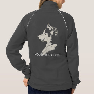 Chaqueta personalizada del perro del trineo de las