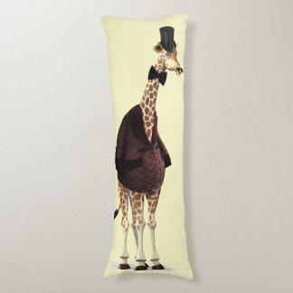 Chaqueta que fuma de la jirafa almohada