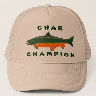 Char Champion Trucker Hat