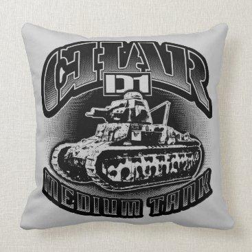 Char D1 Throw Pillow Throw Pillow