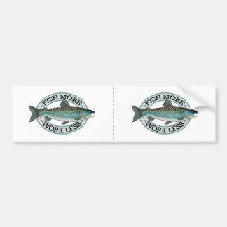 Char Fishing Bumper Sticker