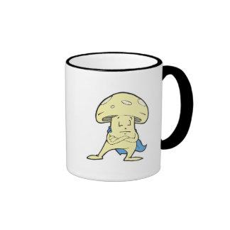 charac tonto del dibujo animado de la seta de los  tazas de café