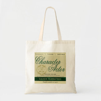 Character Actor Budget Tote Bag