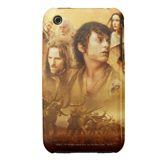 Character Collage Case-Mate iPhone 3 Case