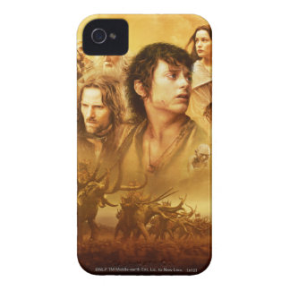 Character Collage iPhone 4 Cover