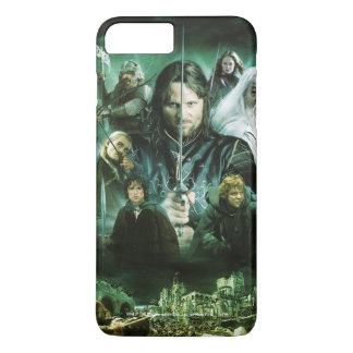 Character Collage iPhone 7 Plus Case