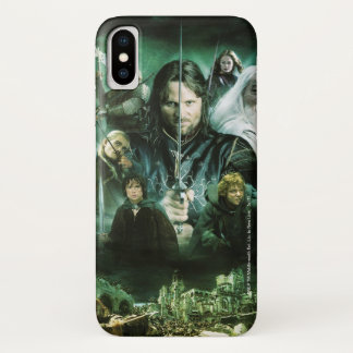 Character Collage iPhone X Case