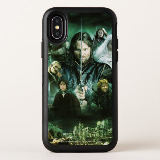 Character Collage OtterBox Symmetry iPhone X Case