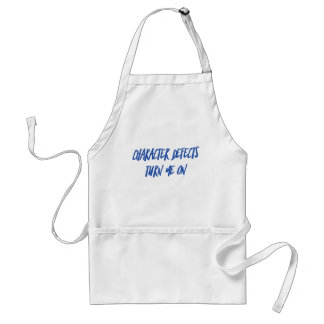 Character Defects Recovery Sober Drunk Adult Apron