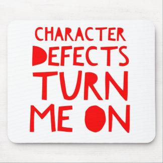 Character Defects Recovery Sober Drunk Mouse Pad