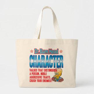CHARACTER Dr Bum Head Canvas Bag