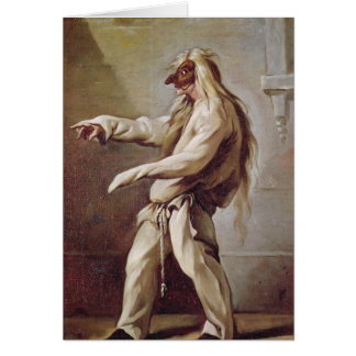Character from the Commedia dell'Arte Greeting Cards