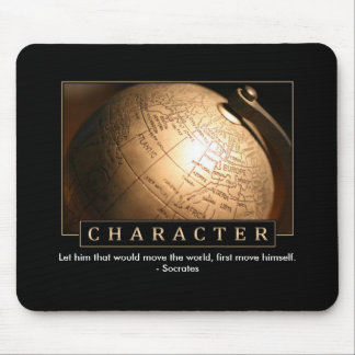 Character Inspirational Mouse Pad