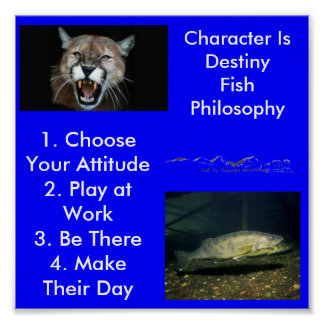 Character is Destiny... Poster