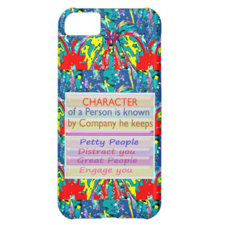 Character of a person ... iPhone 5C cover