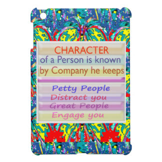 Character of a person ... iPad mini cases