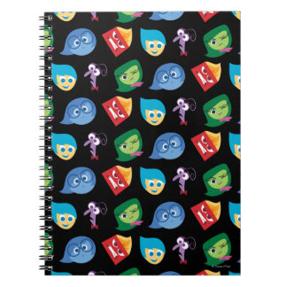 Character Pattern Spiral Notebook
