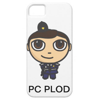 Character Policeman iPhone Case-Mate Barely There iPhone 5 Case