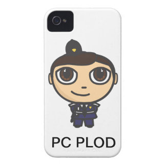 Character Policeman iPhone Case-Mate Barely There Case-Mate iPhone 4 Case