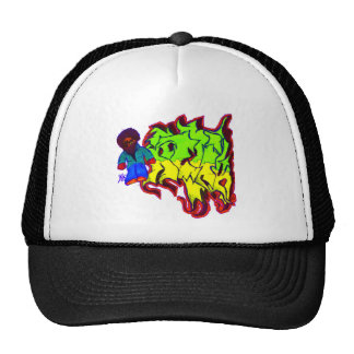 Character Tag Trucker Hat